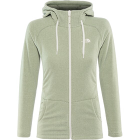 The North Face Mezzaluna Full Zip Hoodie Dam four leaf clover stripe/peyote beige